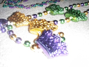 Beads I caught at Mardi Gras 2009