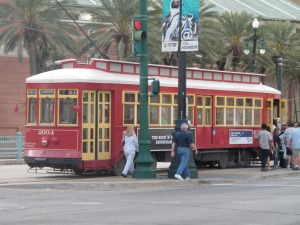 Canal streetcar line in New Orleans