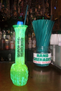 Hand Grenade from Tropical Isle on Bourbon Street